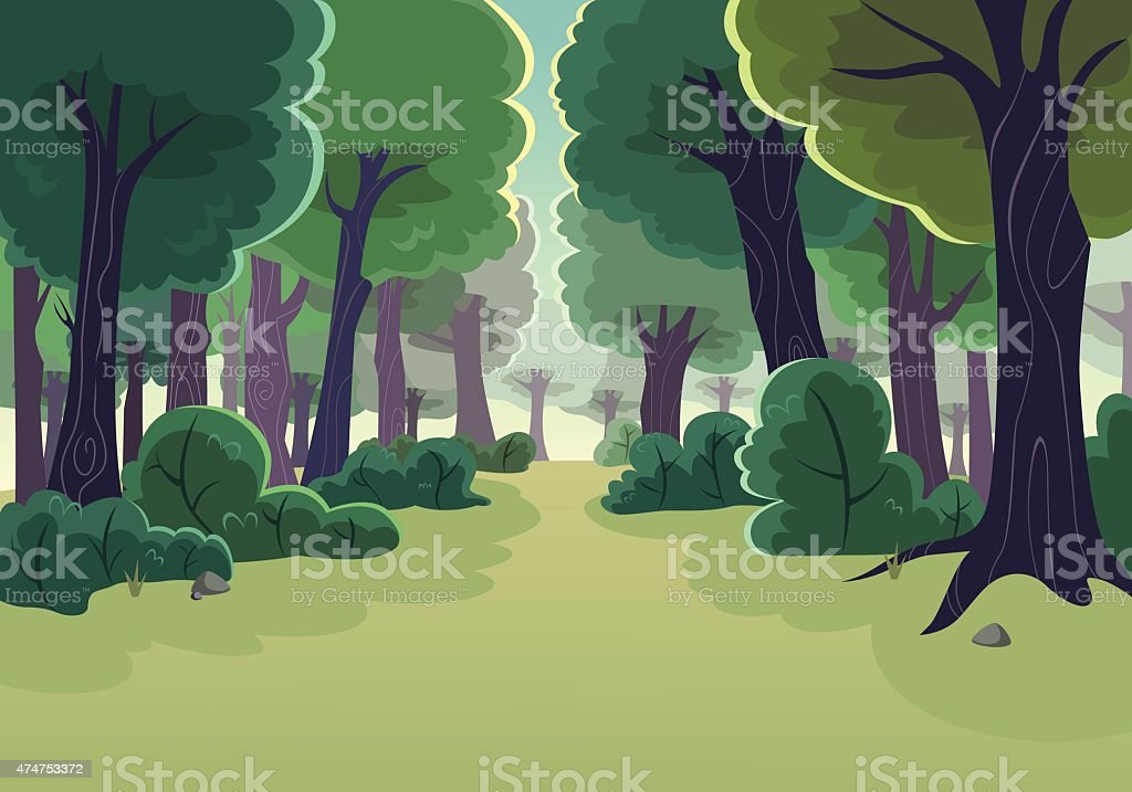Forest - Illustration vectorielle