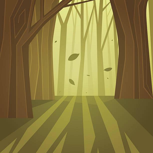 林 - 中林大樹点のイラスト素材/クリップアート素材/マンガ素材/アイコン素材