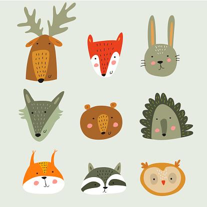 forestanimalfaces
