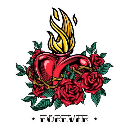 """""""Forever"""" - poster design."""