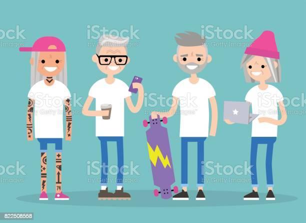 Forever young millennials in senior age a group of trendy active vector id822508558?b=1&k=6&m=822508558&s=612x612&h=wa3t8xyzhly0vutstfh5bmrnmbq vk2xm0pvqzsn cy=