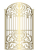 Forged metal gate