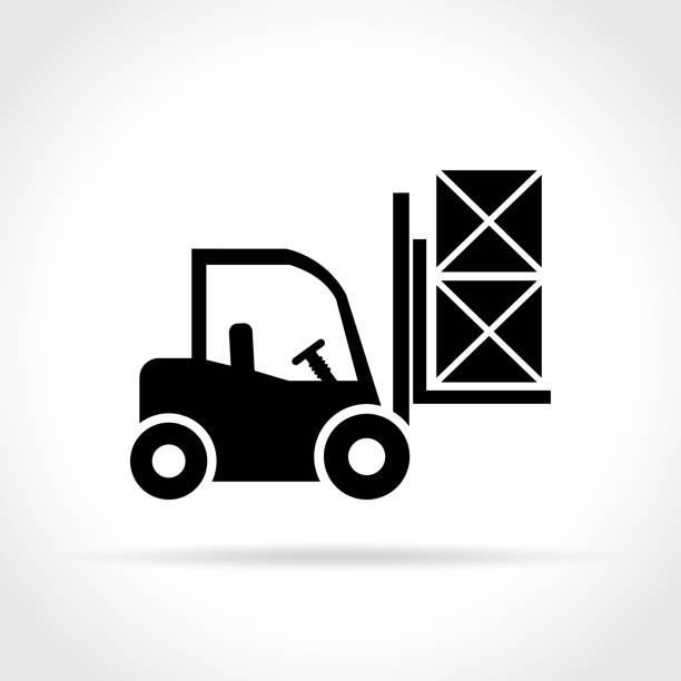 Best Forklift Illustrations, Royalty-Free Vector Graphics