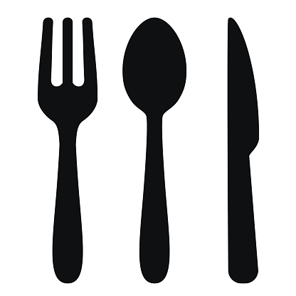 Fork, spoon and knife - VECTOR