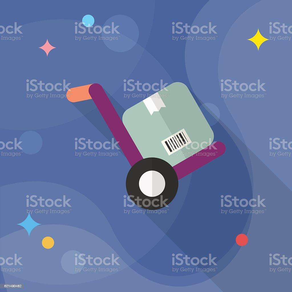 Icona Carrello elevatore a forca icona carrello elevatore a forca - immagini vettoriali stock e altre immagini di affari royalty-free