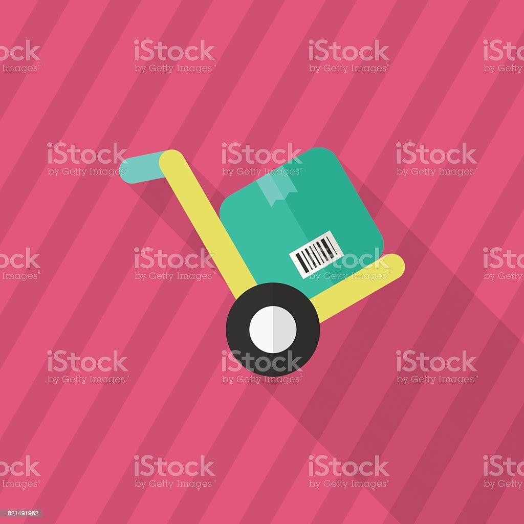 Chariot élévateur icône chariot élévateur icône – cliparts vectoriels et plus d'images de affaires libre de droits