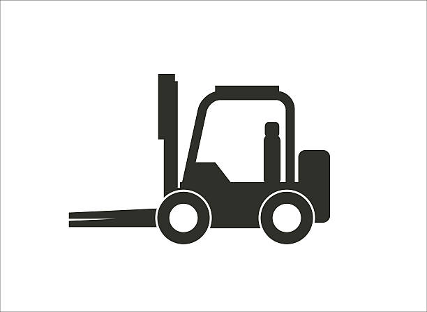 Royalty Free Forklift Clip Art, Vector Images ...