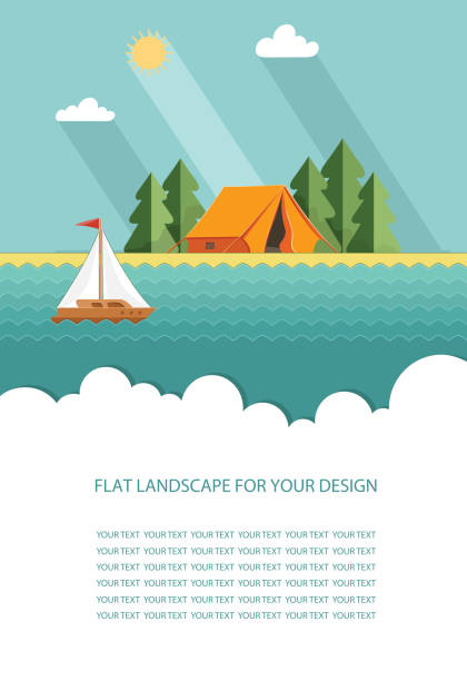 Royalty Free Lake Life Clip Art, Vector Images ...