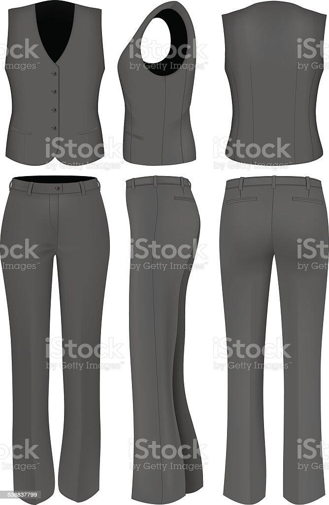 Verkauf Billig Damen Schwarze Hose aus Samt P00199990 bLTcJw