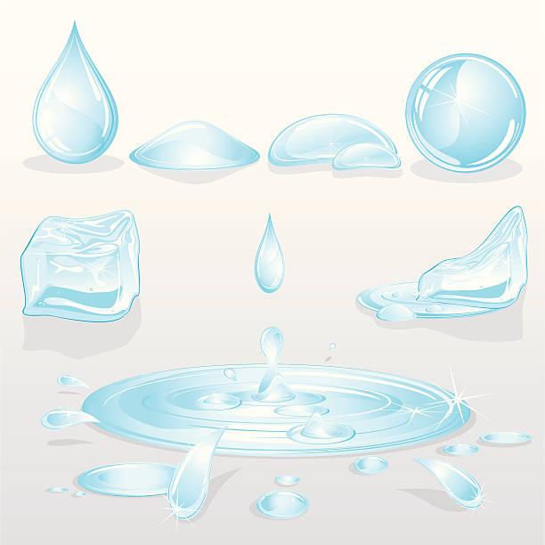 水たまり イラスト素材 Istock
