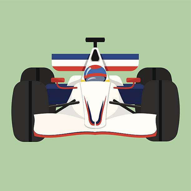 Formula 1 Sport Race Car Formula 1 Sport Race Car indy racing league indycar series stock illustrations