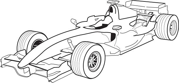De Formule 1 Vecteurs libres de droits et plus d'images
