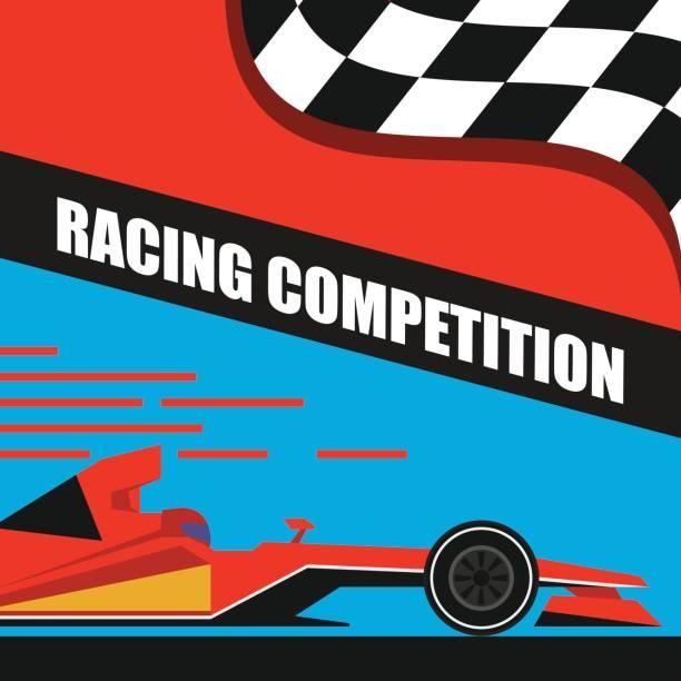 方程式大獎賽賽車海報 /。向量圖 - formula 1 幅插畫檔、美工圖案、卡通及圖標