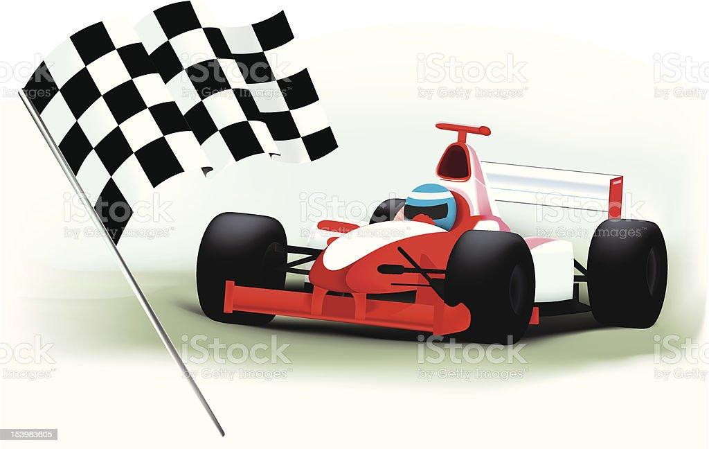 Formula_One royalty-free stock vector art