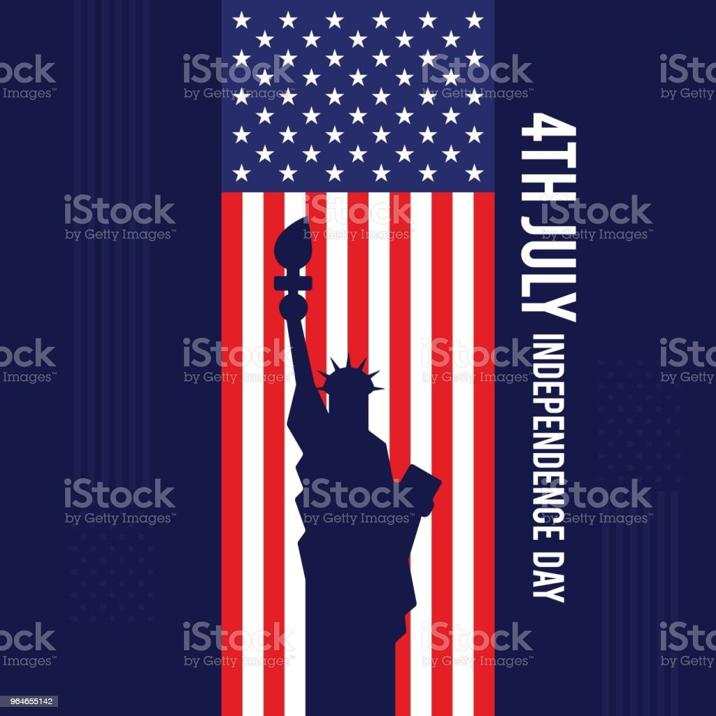 Forth of July, United States of America independence day poster background royalty-free forth of july united states of america independence day poster background stock illustration - download image now