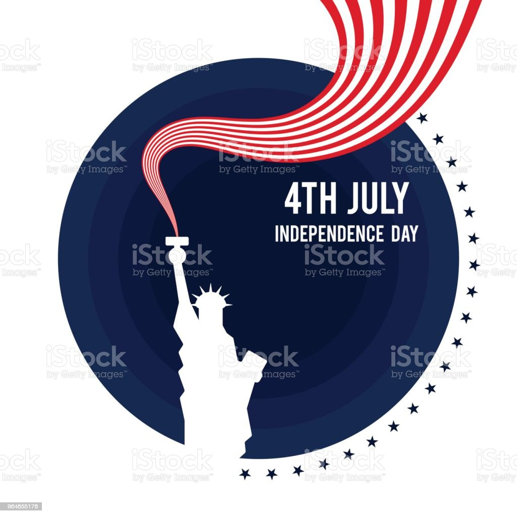 Forth of July, United States of America independence day poster background royalty-free forth of july united states of america independence day poster background stock vector art & more images of abstract