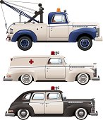 Forties Emergency Vehicles