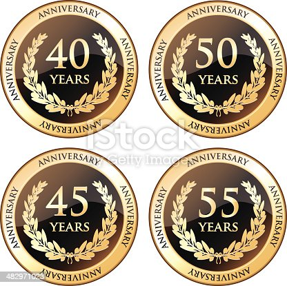 istock Fortieth And Fiftieth Anniversary Awards 482971023