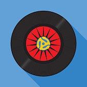Fortyfive RPM Record