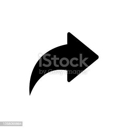 istock forward arrow button icon vector 1258065864