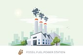Fossil Fuel Power Station