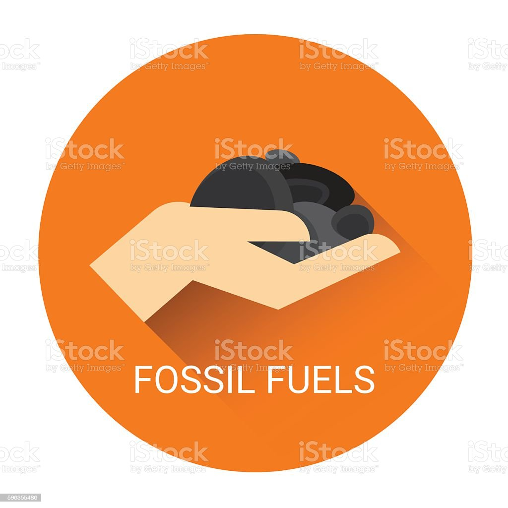 Fossil Fuels Icon royalty-free fossil fuels icon stock vector art & more images of abstract