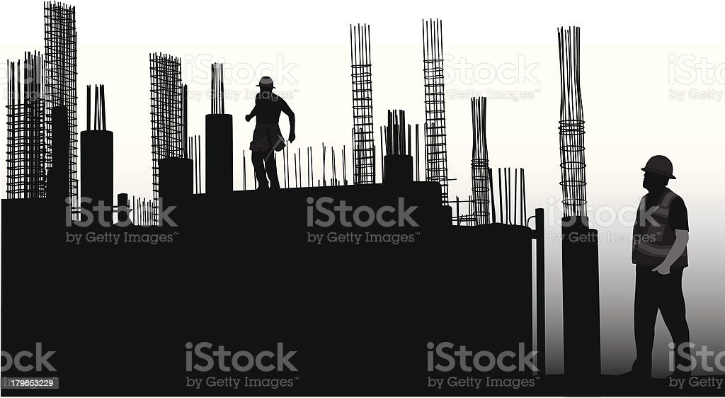 Foundations royalty-free stock vector art