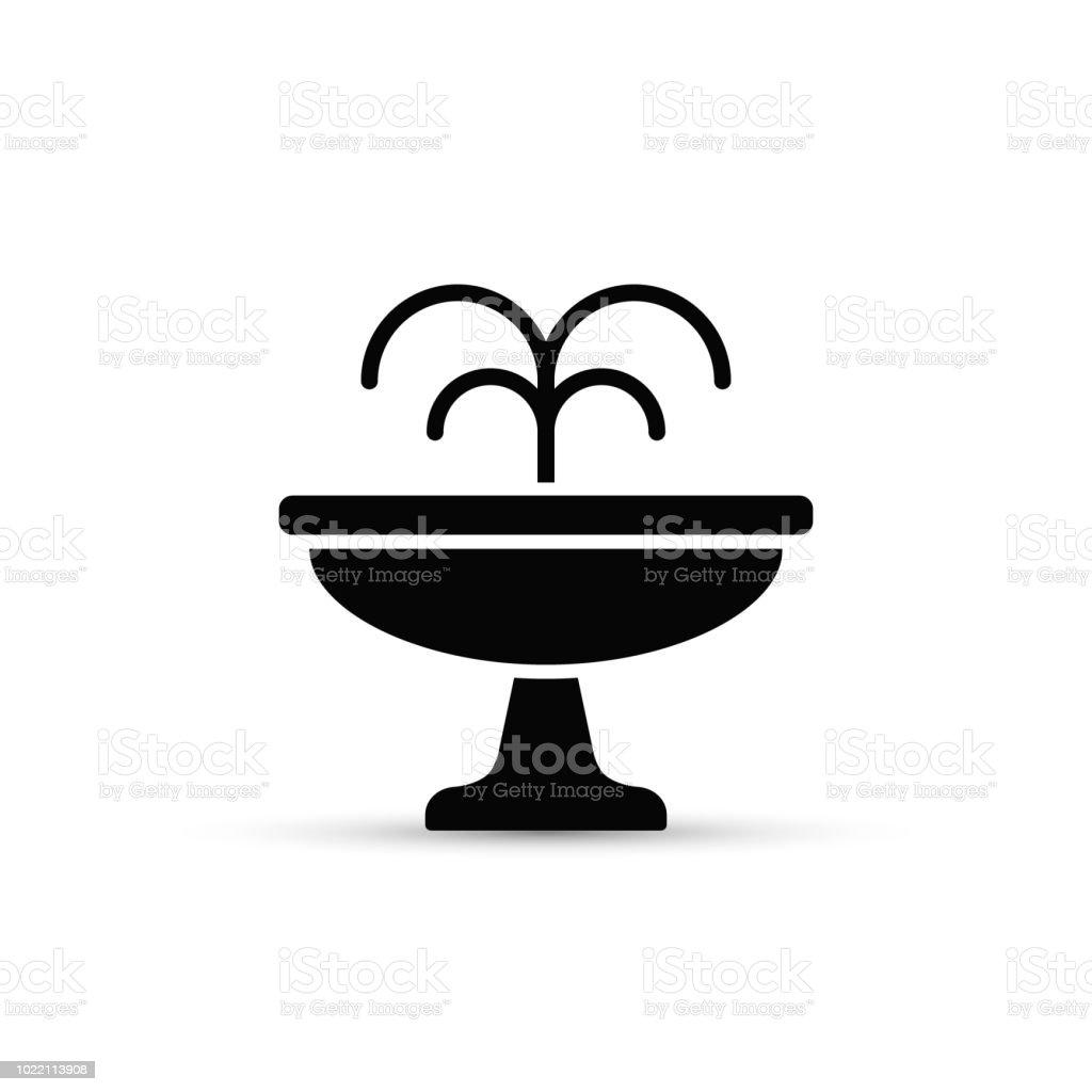 Ícone de fonte plana. Mínima ilustração vetorial isolado - ilustração de arte em vetor