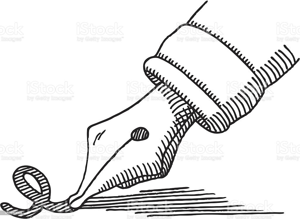 stylo plume crire dessin conseil vecteurs libres de. Black Bedroom Furniture Sets. Home Design Ideas
