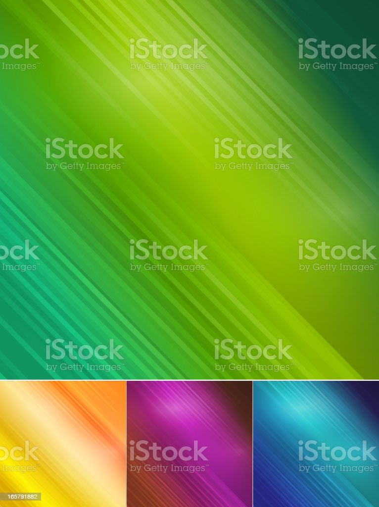 Four abstract color blurred background royalty-free stock vector art