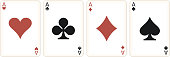 four aces in a row