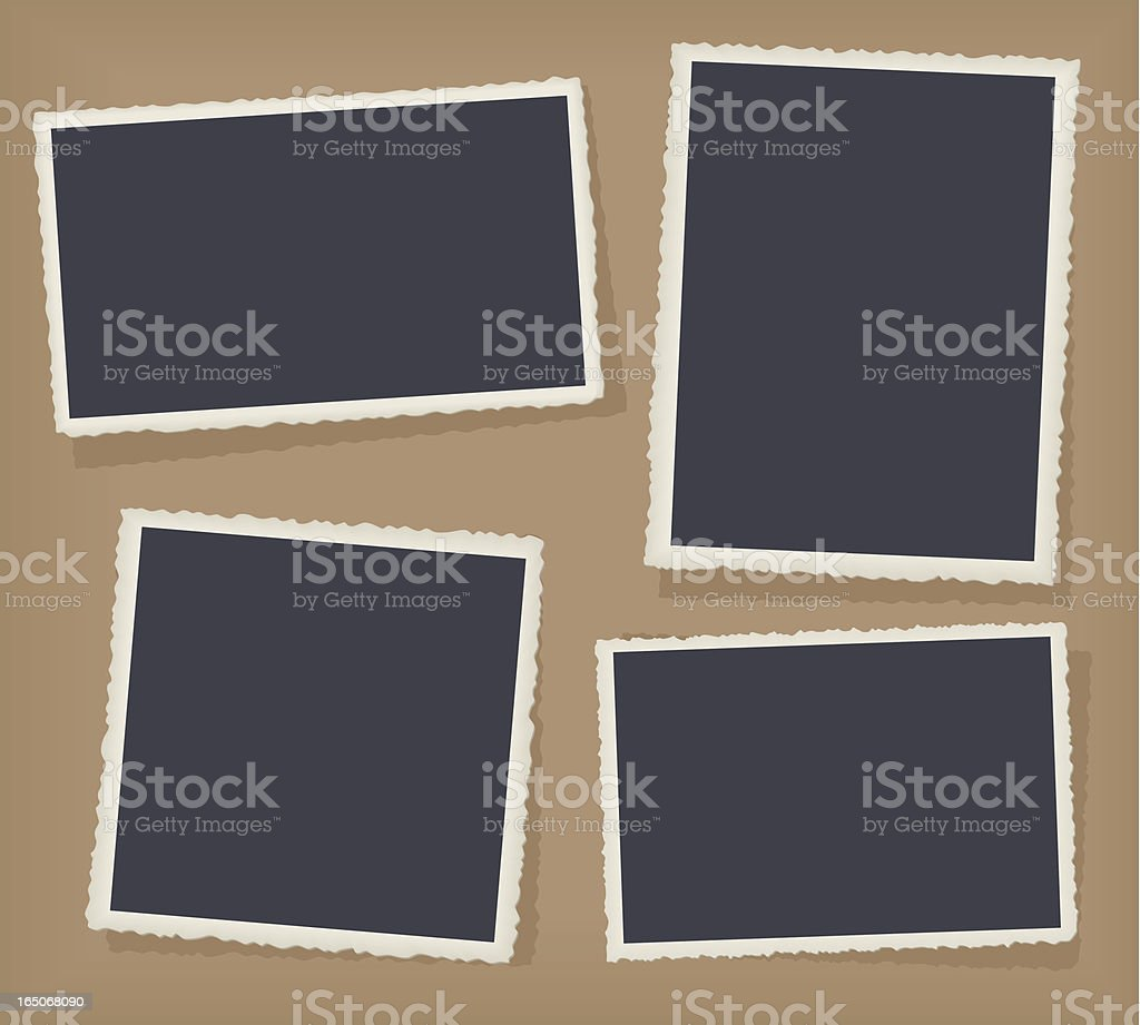 Four Antique Photo Borders royalty-free four antique photo borders stock vector art & more images of antique