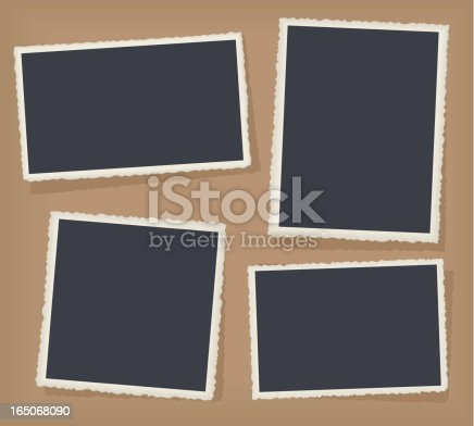 Four nice borders to frame your own artwork!