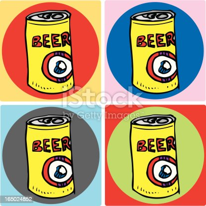 istock Four Beer Coasters 165024852