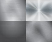 istock Four different displays of the color grey in gradation 154194618