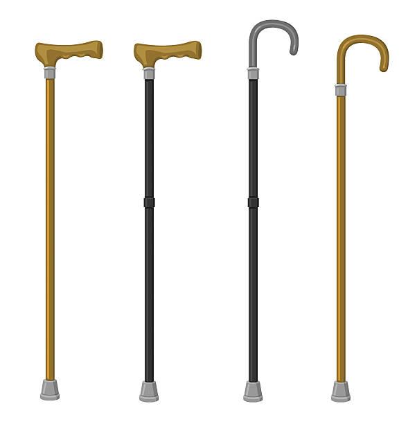 ウォーキングスティック - 杖点のイラスト素材/クリップアート素材/マンガ素材/アイコン素材