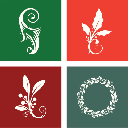 Four Holiday Design Elements