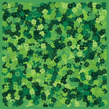 Four Leaf Clover Background