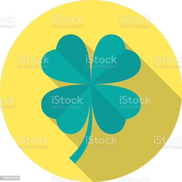 Four leaf clover icon with long shadow vector id628530570?b=1&k=6&m=628530570&s=612x612&h=mwubyu0jkmtptzsnciuqnbgj4rokjkqup9r7fomfzbm=