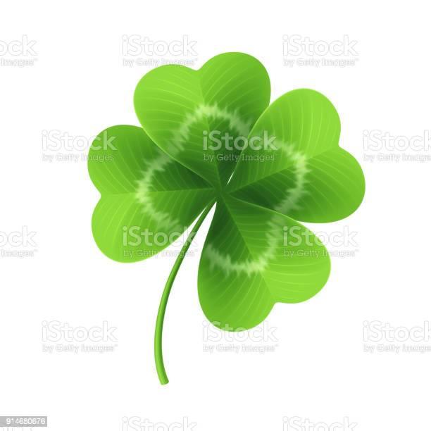 Four leaf clover isolated on white vector illustration vector id914680676?b=1&k=6&m=914680676&s=612x612&h=0q33paggwar0ts0uewxhwwtwrjzahggfnlntqeupvl8=
