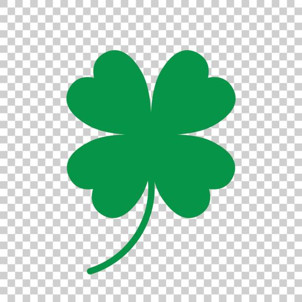 royalty free four leaf clover clip art vector images