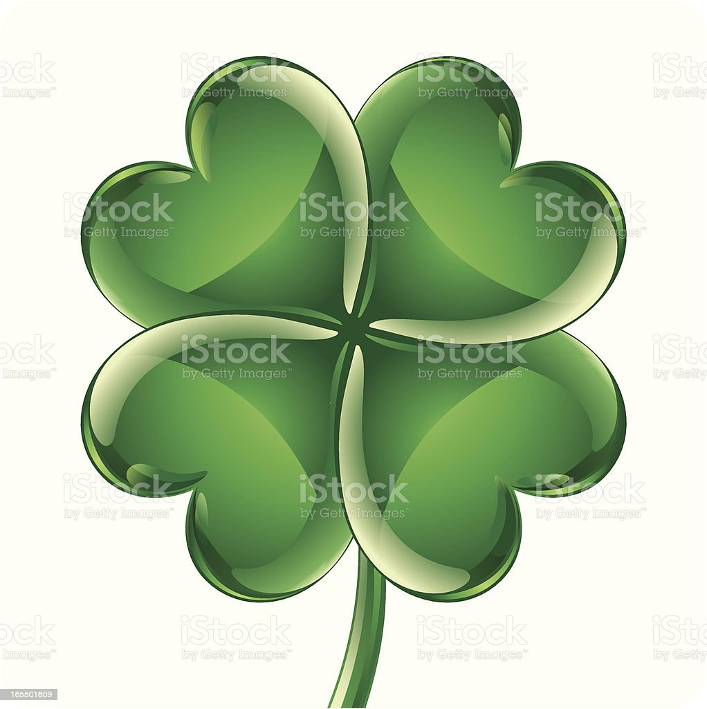 trefle 4 feuilles vecteurs et illustrations libres de four leaf clover vector clipart four leaf clover vector free