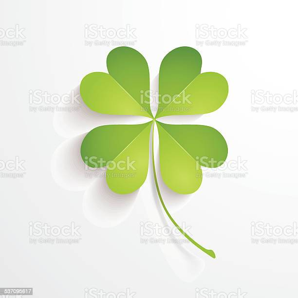 Four leaves clover vector id537095617?b=1&k=6&m=537095617&s=612x612&h=rsvnlr50enbcq86zgktvmbsj45wzj6hetvgwel6xkyg=
