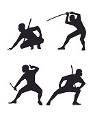 Four ninja set