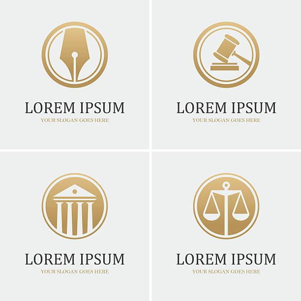 4 ラウンド法のアイコン - 弁護士点のイラスト素材/クリップアート素材/マンガ素材/アイコン素材