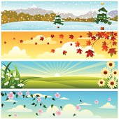 Beautiful Four Season Banner.Please see some similar pictures from my portfolio: