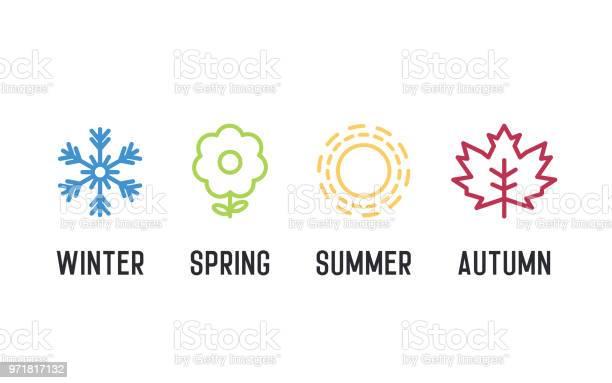 Four seasons icon set 4 vector graphic element illustrations winter vector id971817132?b=1&k=6&m=971817132&s=612x612&h=ftwhvp2acr9sbqdslw5gcjvfb4umjaj 3ggogocdg8c=