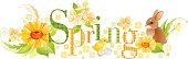 Four seasons: Spring banner