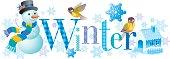 Four seasons: Winter banner