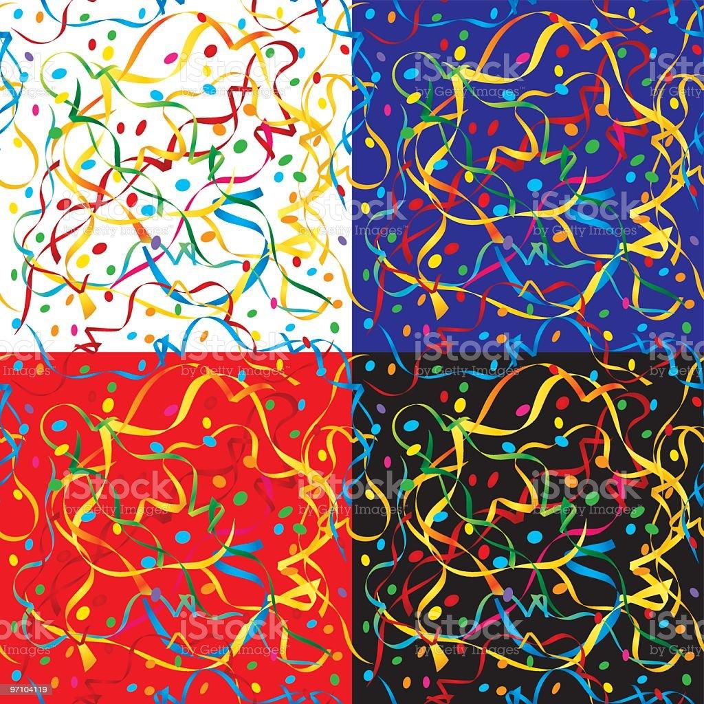 Feiertags-Muster – Vektorgrafik
